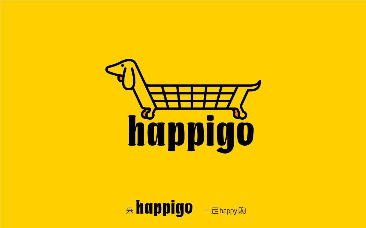HAPPIGO商城形象设计
