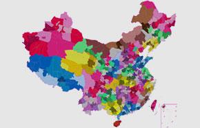 用2年时间,把中国34个省市名字重新设计一遍